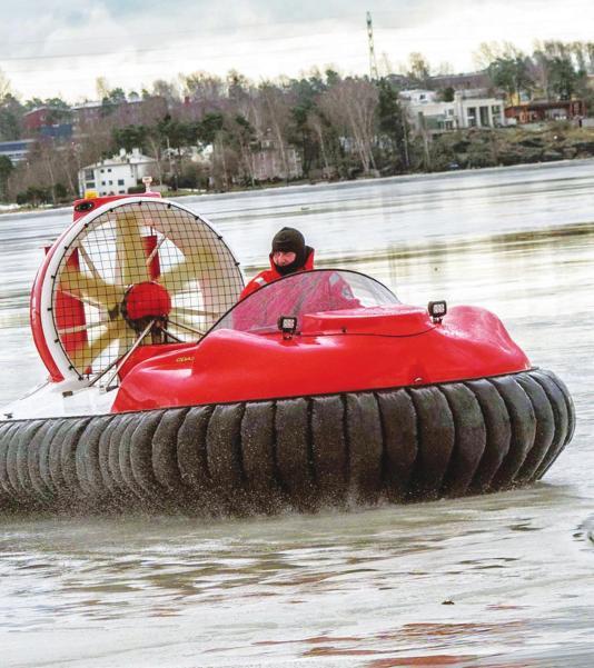 3-4人座气垫船