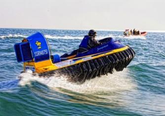 2-3人座位气垫船