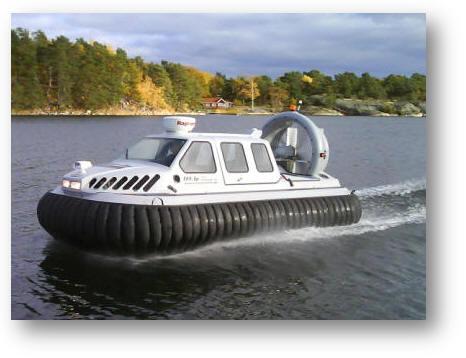 巡海者8-10人座气垫船